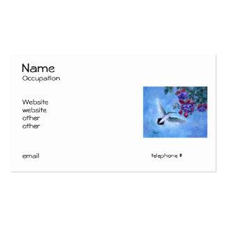 Hummingbird In Flight Business Cards