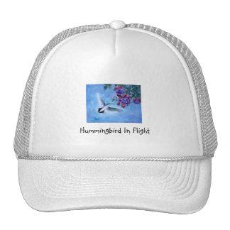 Hummingbird In Flight Hat