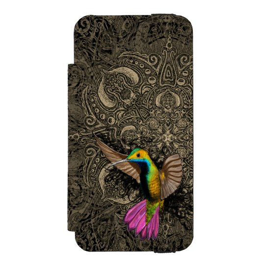 Hummingbird in Flight Incipio Watson™ iPhone 5 Wallet
