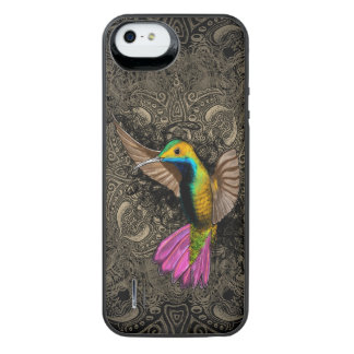 Hummingbird in Flight iPhone SE/5/5s Battery Case