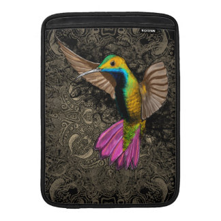 Hummingbird in Flight MacBook Sleeve