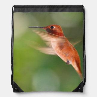 Hummingbird in Flight Backpacks