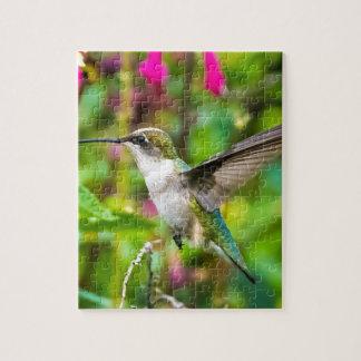 Hummingbird in Flight Puzzles