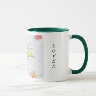 Hummingbird in the Flowers Mug