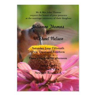 """Hummingbird 5"""" X 7"""" Invitation Card"""