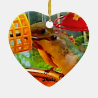 Hummingbird Keepsake Ornament