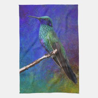 Hummingbird kitchen towel