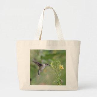 Hummingbird Large Tote Bag