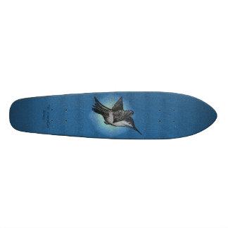 Hummingbird - logo deck copybhu custom skateboard