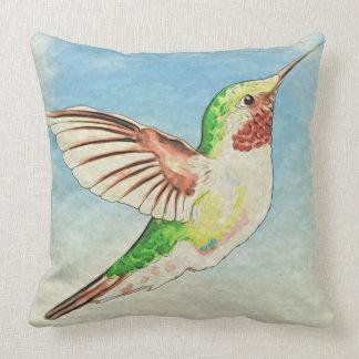 Hummingbird Love Cushion