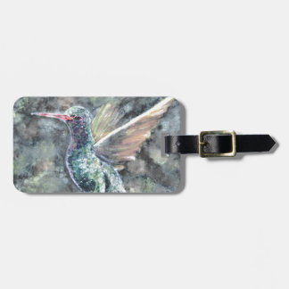 hummingbird tag for bags