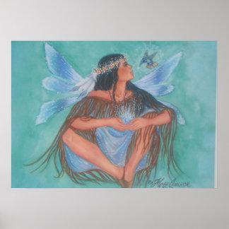 Hummingbird Maiden Poster