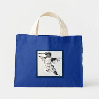 Hummingbird Mini Tote Bag