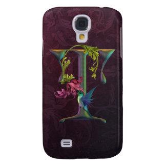 Hummingbird Momogram T Galaxy S4 Case