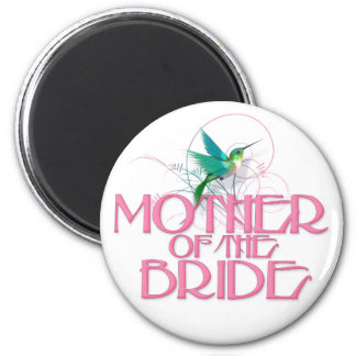 Hummingbird Mother of the Bride Magnet