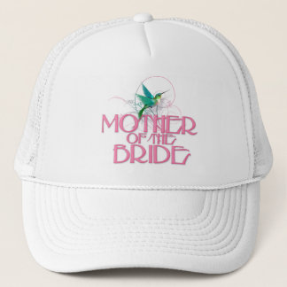 Hummingbird Mother of the Bride Trucker Hat