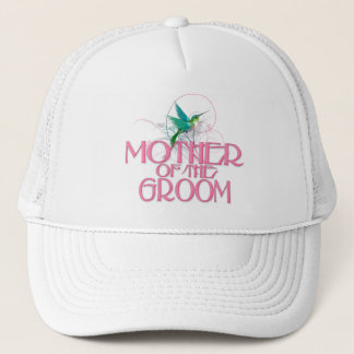 Hummingbird Mother of the Groom Trucker Hat