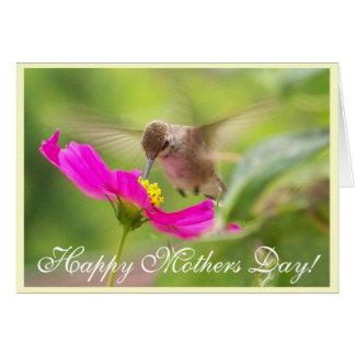 Hummingbird Mothers' Day Card