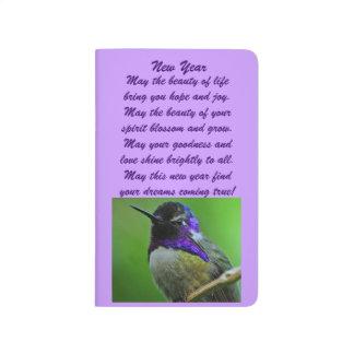 Hummingbird New Year Journal