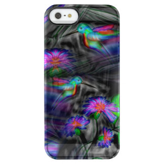 Hummingbird Night Flight Clear iPhone SE/5/5s Case