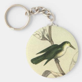Hummingbird on Branch Key Chains