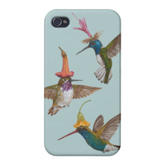 hummingbird party iPhone4 case Case For iPhone 4