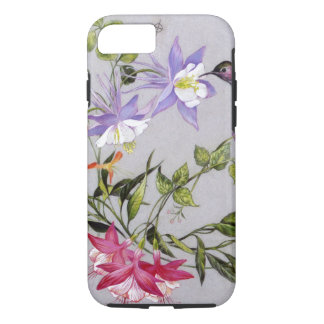 Hummingbird Petals Wrap-Around iPhone 8/7 Case