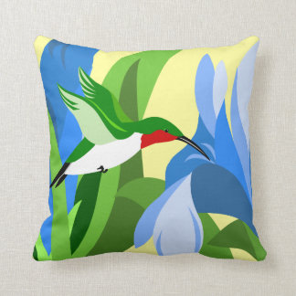 Hummingbird Pillows