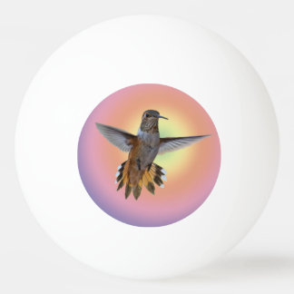 HUMMINGBIRD PING PONG BALL