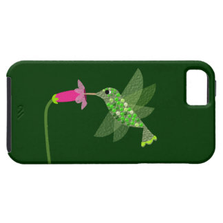 Hummingbird & Pink Flower iPhone 5 Case