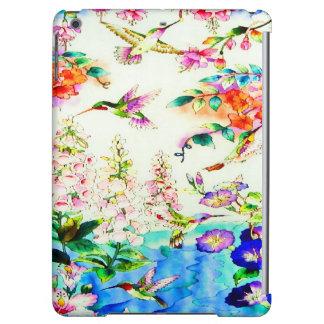 Hummingbird-Pink-Flowers Landscape