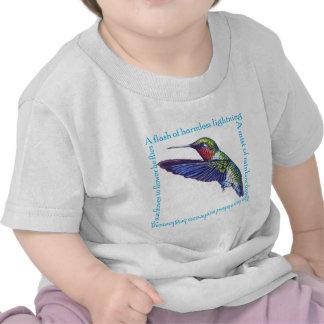 Hummingbird Poem Shirts
