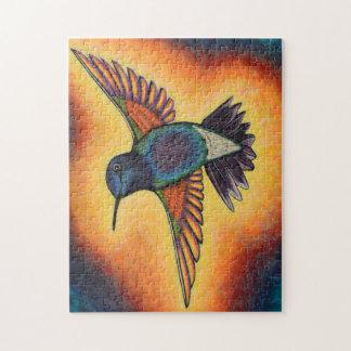 Hummingbird Puzzlie Jigsaw Puzzle