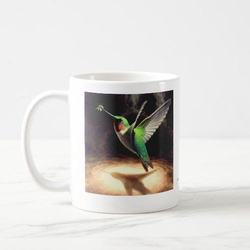 Hummingbird Reflection Mug