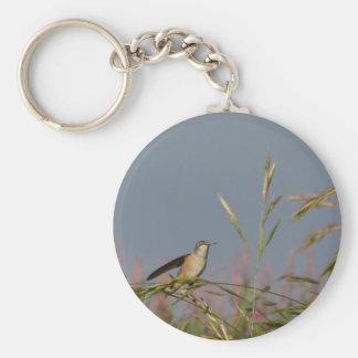 Hummingbird rest keychain