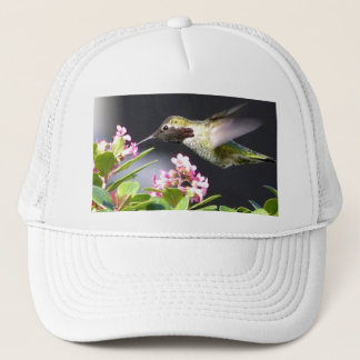Hummingbird returns trucker hat