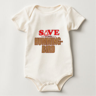 Hummingbird Save Baby Bodysuit