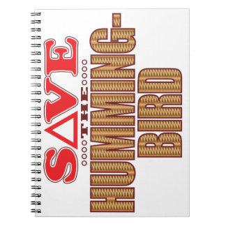Hummingbird Save Notebook