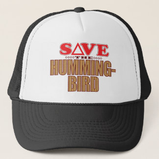 Hummingbird Save Trucker Hat