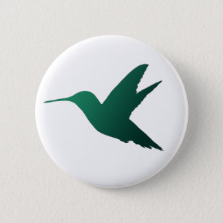 Hummingbird Silhouette Badge