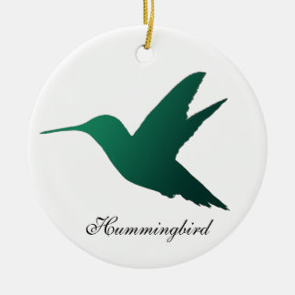 Hummingbird Silhouette Ornament