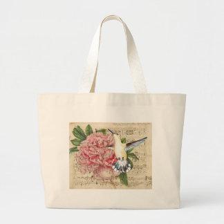 Hummingbird Song Jumbo Tote Bag
