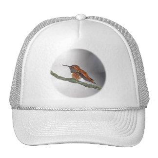 Hummingbird Sticking Out Tongue Hats