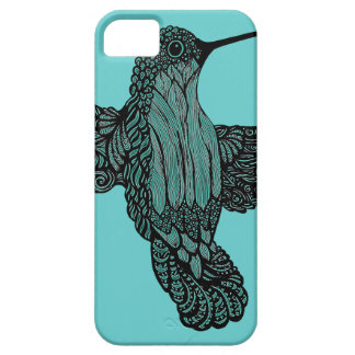 Hummingbird - Teal Case For The iPhone 5