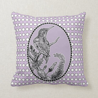 Hummingbird Throw Pillow Perfect for bird-lovers!