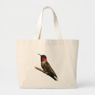 Hummingbird Jumbo Tote Bag