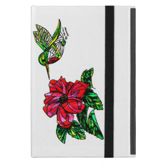 Hummingbird with hibiscus IPad Mini Case