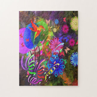 Hummingbirds and Balloons Jigsaw Puzzle