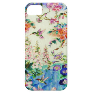 Hummingbirds and Flowers Case-Mate iPhone 5 case