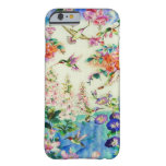Hummingbirds and Flowers iPhone 6 case Barely There iPhone 6 Case